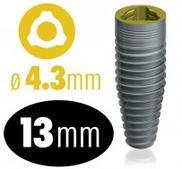 Infinity TRI-CAM implantat 4.3 mm x 13 mm